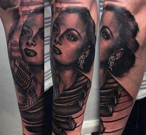 03-music-star-tattoo-on-mens-arm